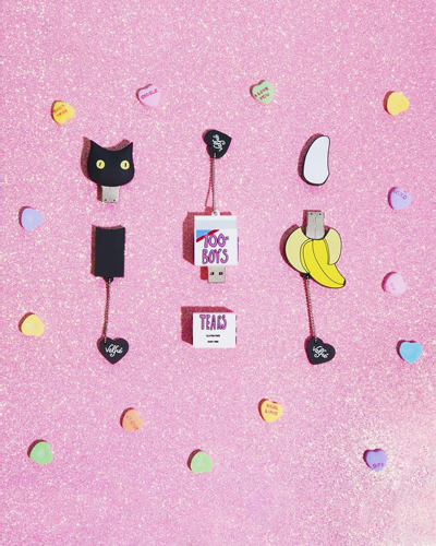 [VALFRE] yellow banana USB &nbsp
